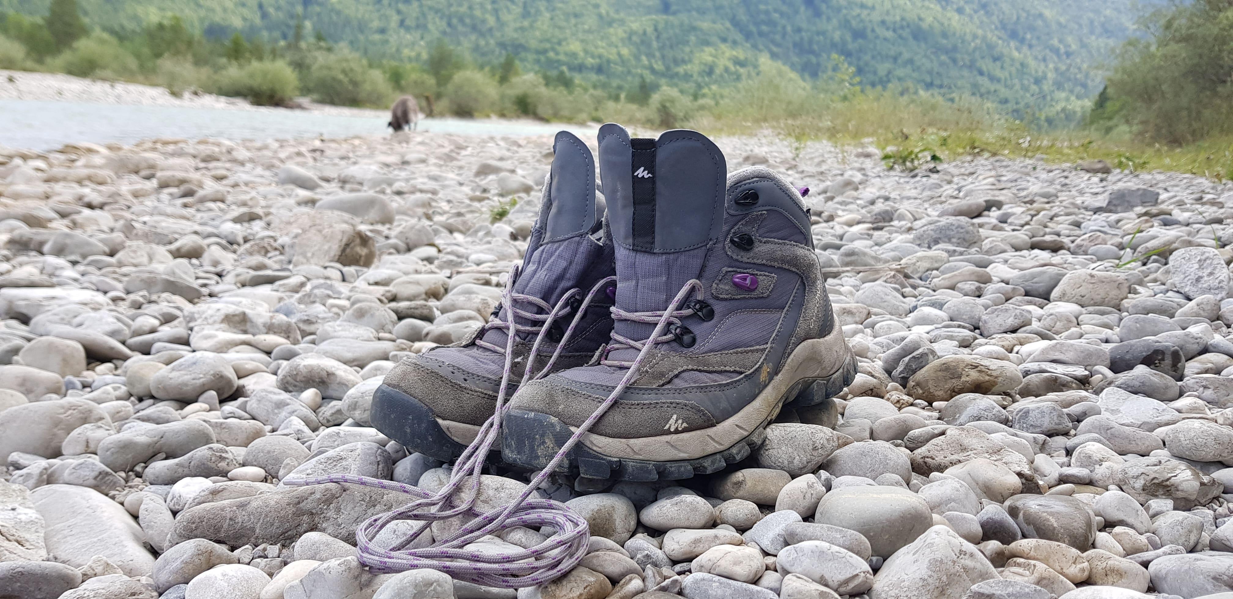 Pause - auch für die Schuhe...