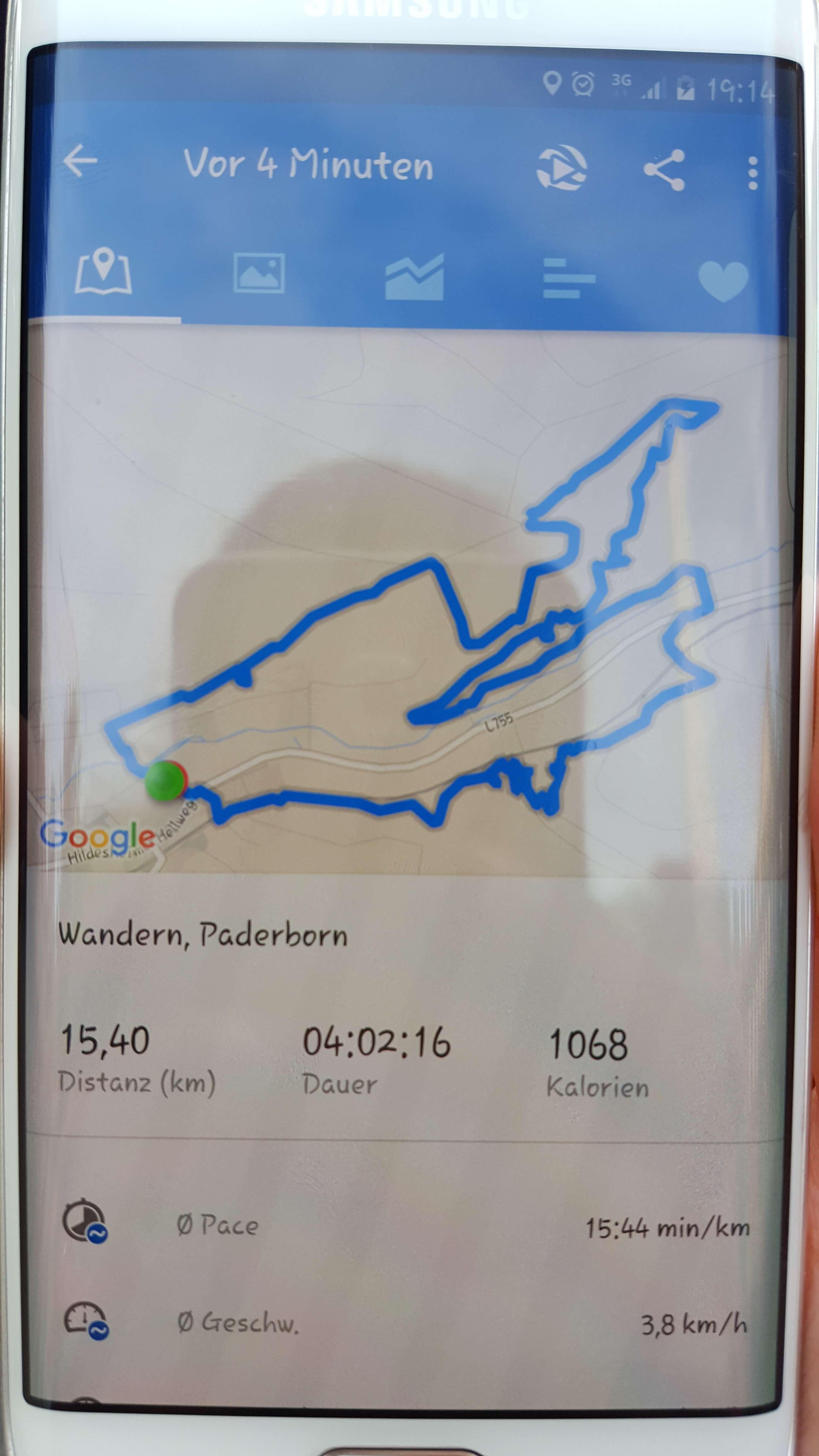 Route, Dauer, Länge