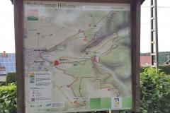 Übersicht Paderborner Höhenweg