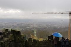 Diesiger Blick über Kassel