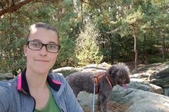 Selfie auf dem Felsen
