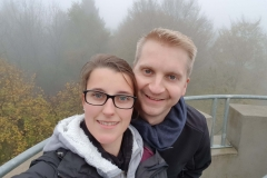 Selfie auf dem Bismarckturm