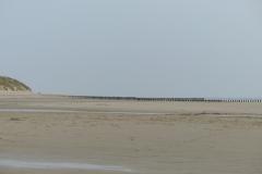 Leere Weite am Strand von Nieuw-Haamstede
