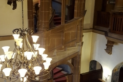 Treppenaufgang und Foyer